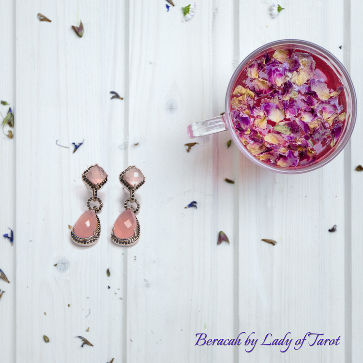 Taurus Earrings by Beracah: Love, Friendship, Self-Confidence
