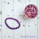 Amethyst Bracelet by Beracah for Love, Health, HappinessAmethyst Bracelet by Beracah for Love, Health, Happiness