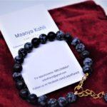 Obsidian Bracelet by Beracah