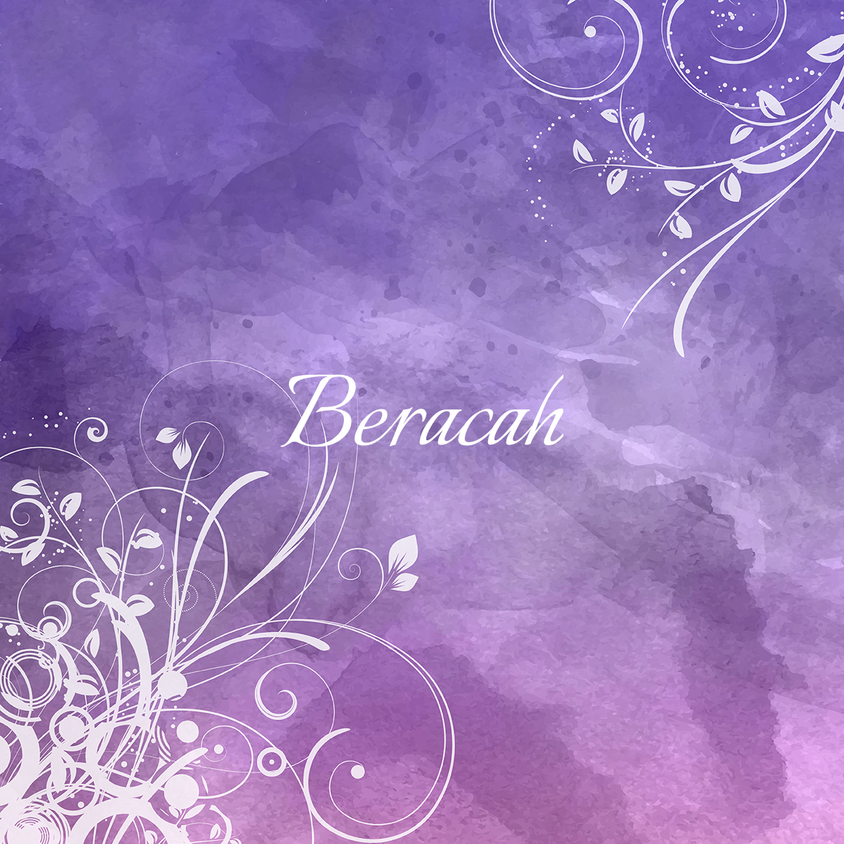 Floral watercolour background 0801