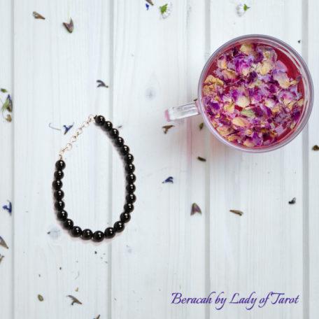 Black Onyx Bracelet by Beracah: Positivity, Power, Protection