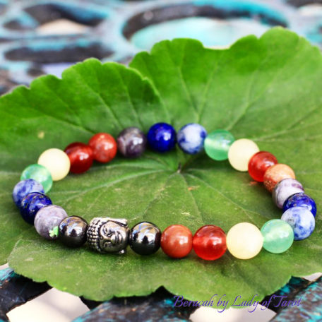 Seven Chakra Bracelet by Beracah: Balance, Healing, Spirituality