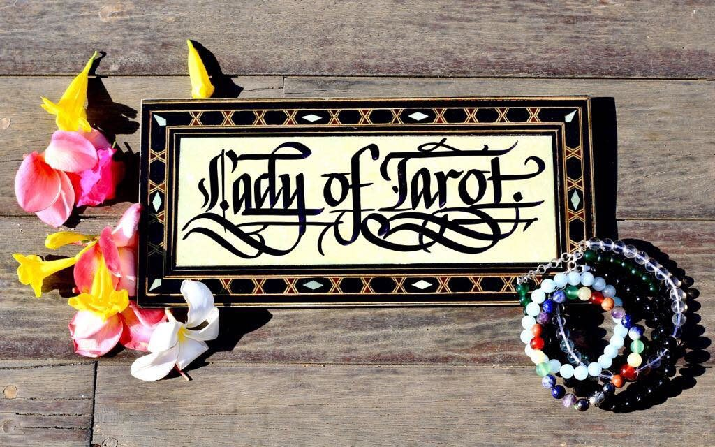 Find your Power Crystal by Lady of Tarot