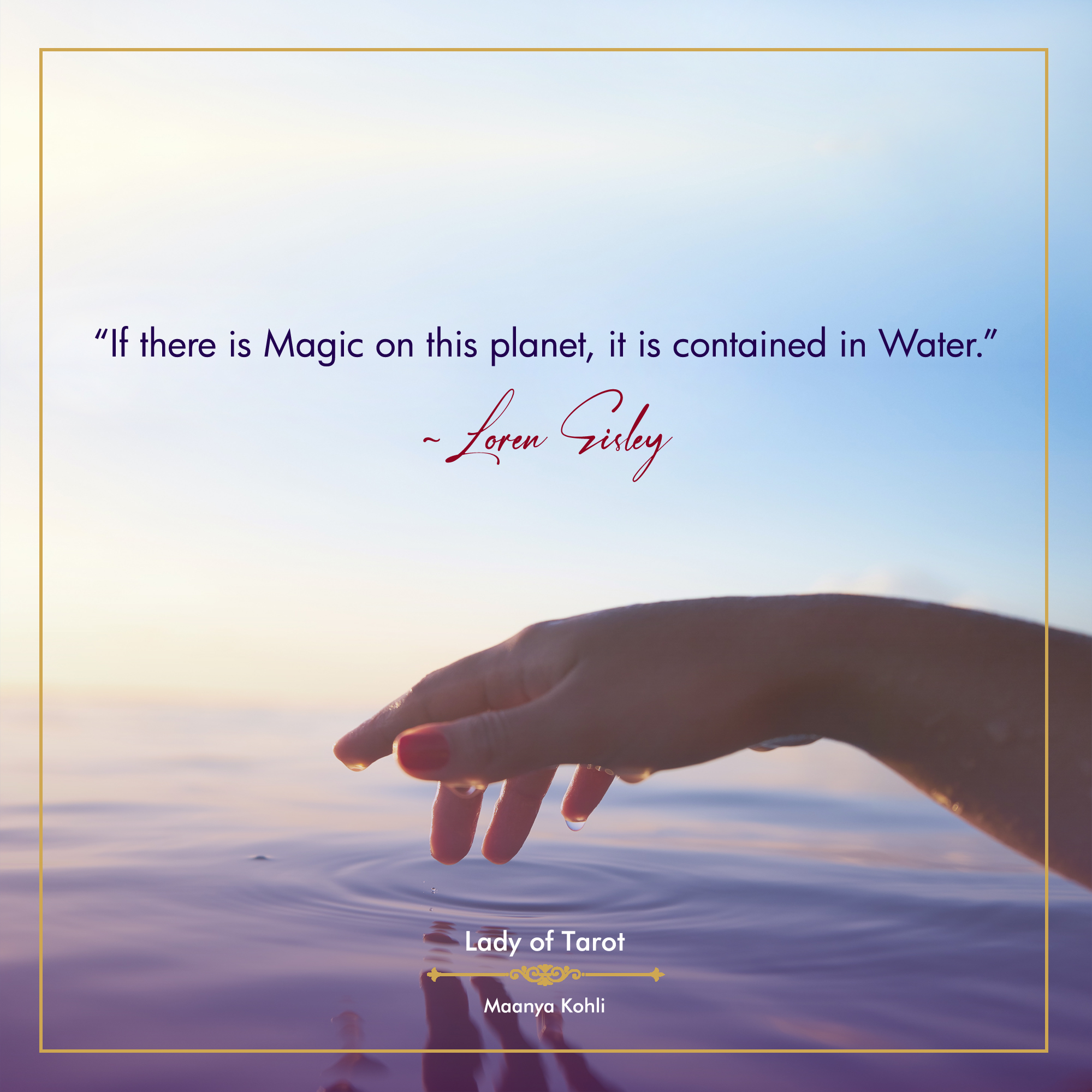 The Magic Of Water